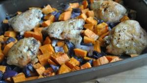 one dish roast chicken sweet potato recipe - 3