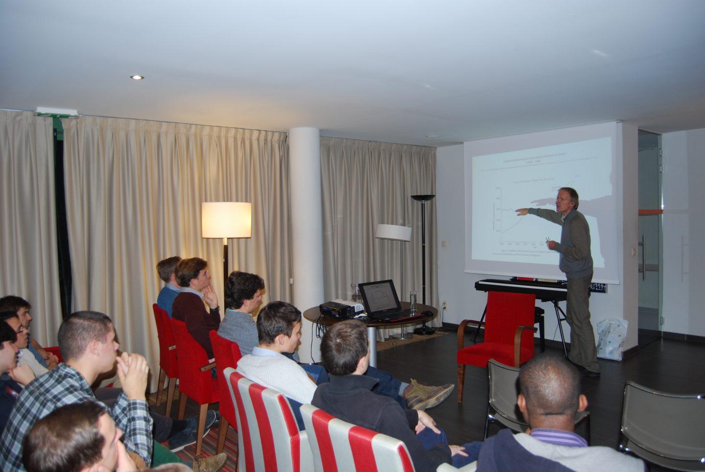 Conferentie in studentenhuis Arenberg