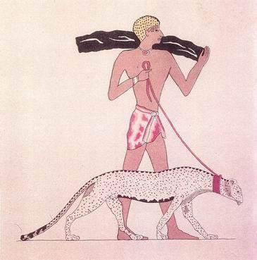 tamed-cheetah-ancient-egypt