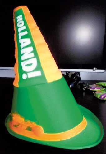 Heineken-Toeterhoed