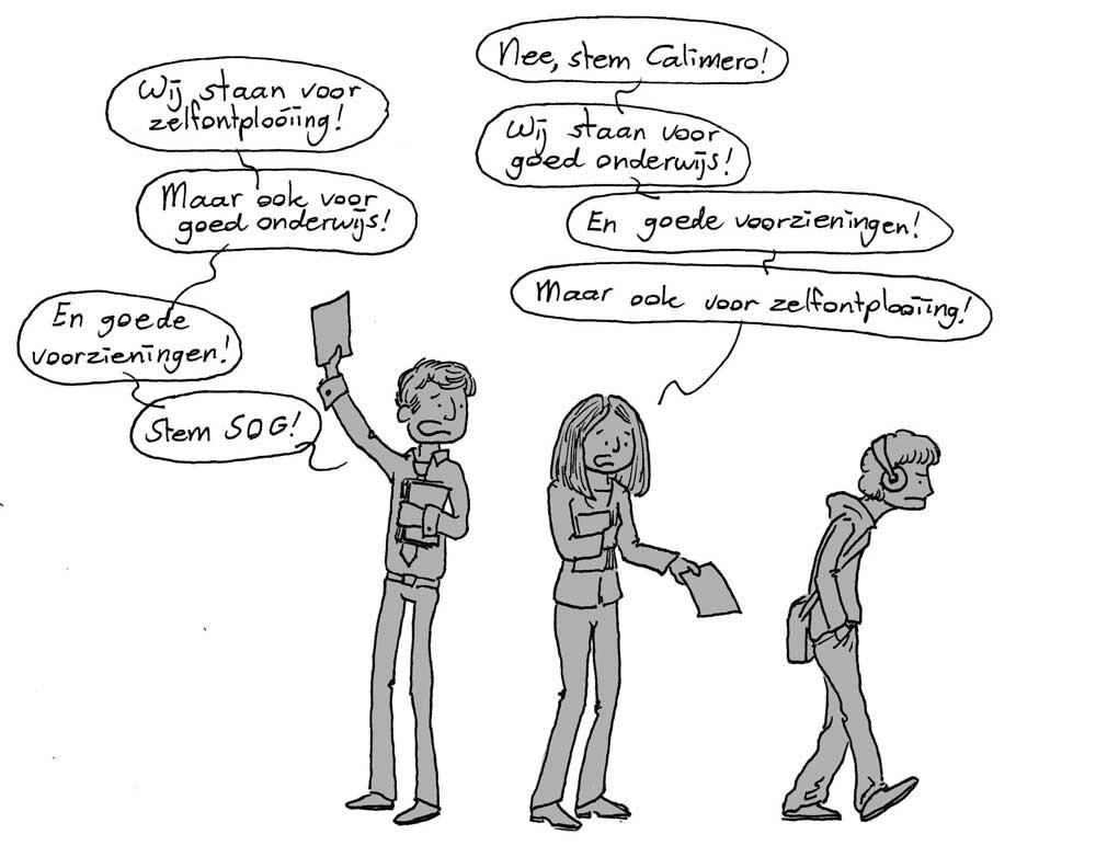 U-raad-verkiezingen