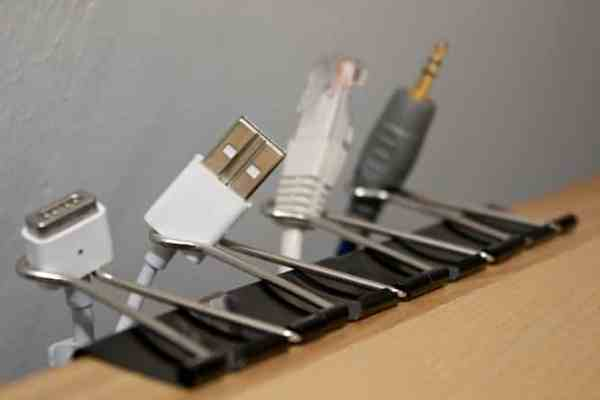 clips cable