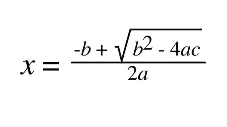 GCSE Maths Formula