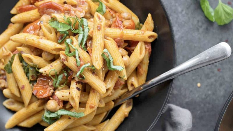 Spicy Tomato Penne Pasta