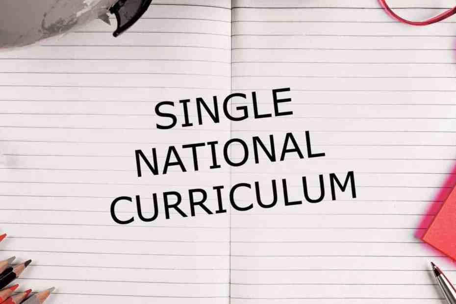 Single National Curriculum
