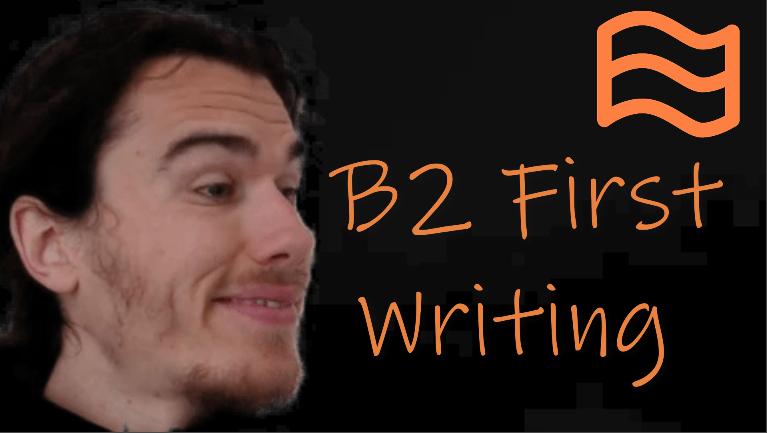 b2 first writing fce