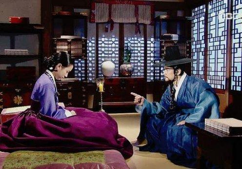 Abheetha Diyaniya Dong Yi & King Sukjong