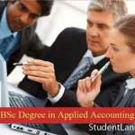 Applied Accounting BSc Degree @ Institute of Chartered Accountants
