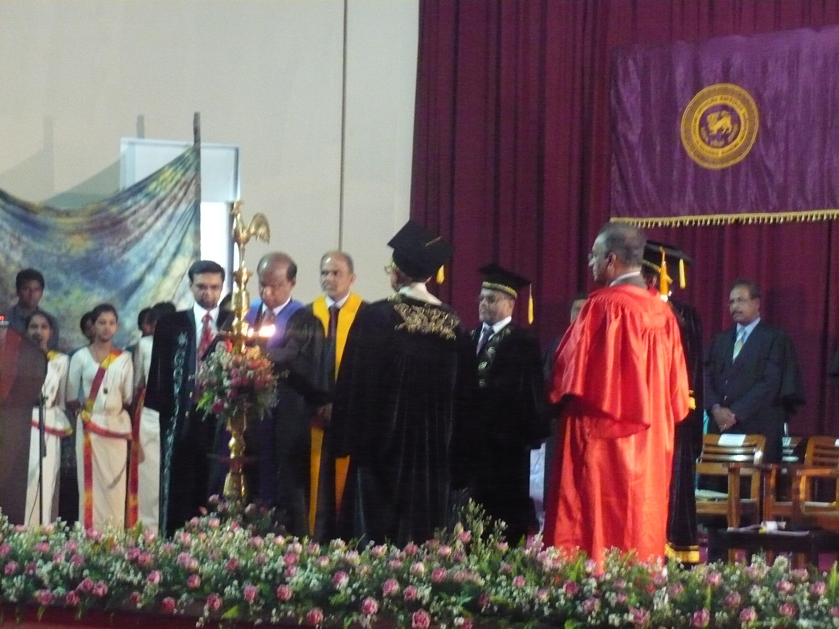 External degree convocation @ University of Peradeniya