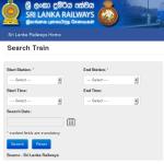 Sri Lanka Railway Time table