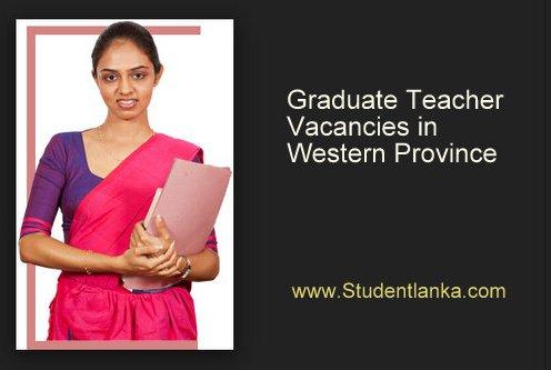 Graduate Teachers Sri Lanka