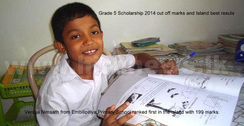 Wenura Nipunajith scholarship best 2014
