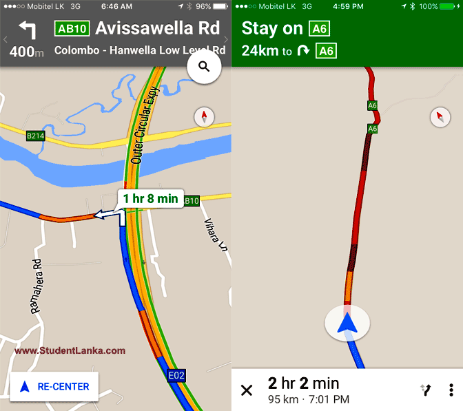 Google-Maps-lanka-live-traffic