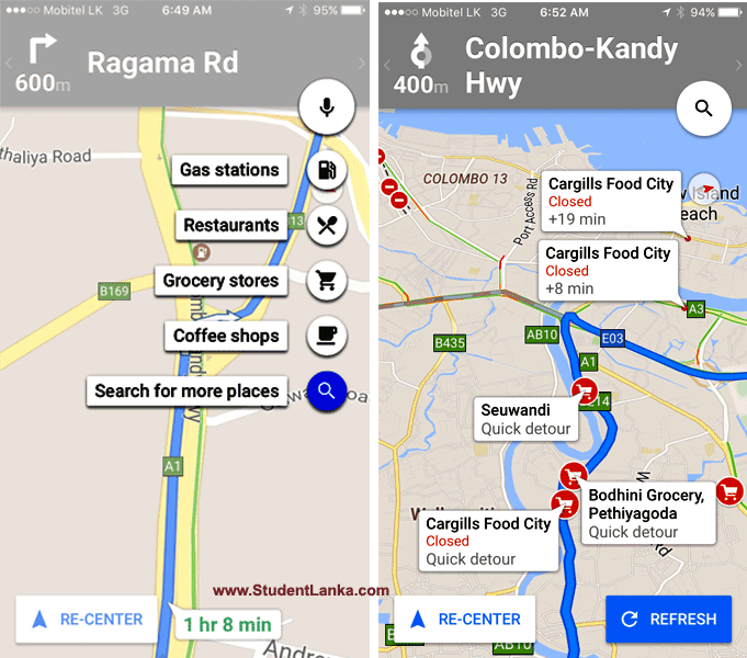 goolge-map-navigation-sri-lanka-nearby-places