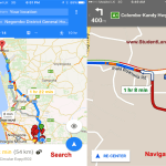 Google Maps voice navigation – Drive Turn-by-turn in Sri Lanka