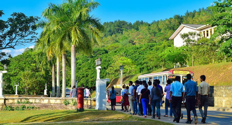 Students at University of Peradeniya