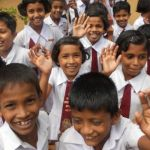 grade 1 school children Sri Lanka