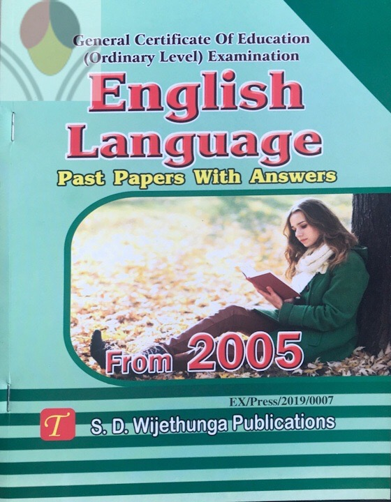 OL English Past Papers Wijethunga (1)