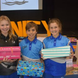 Students Send School Supplies to Timor