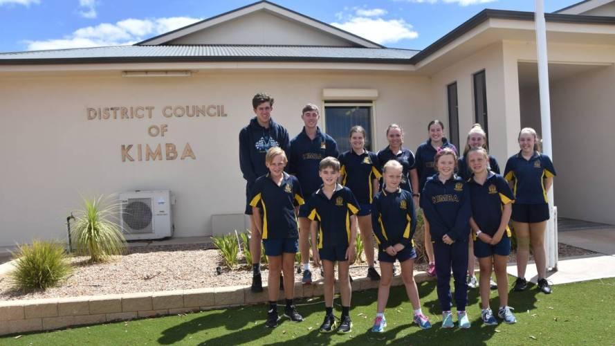 Kimba Students Visit the Local Council