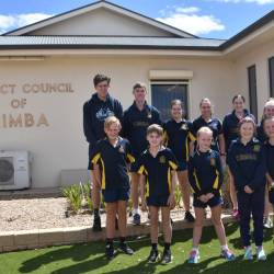 Kimba Students Visit the Local Council