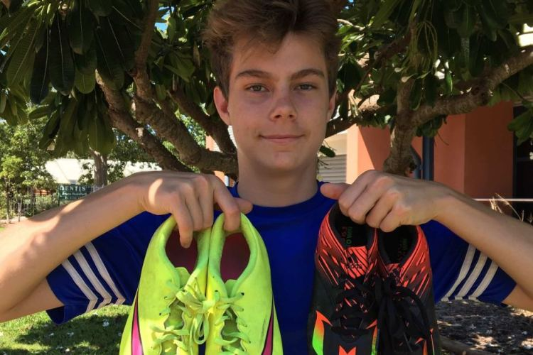 222 Pairs of Footy Boots