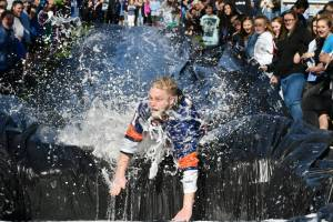 Parkland High School Freeze 'n' Slide for a Cause