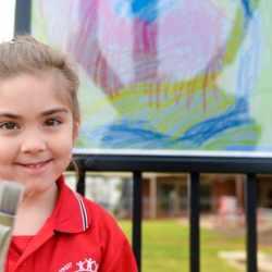 Gowrie Street Primary School Creates Art Exhibition