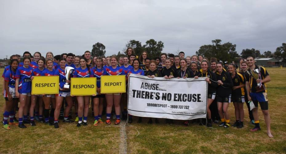 Forbes and Parkes High School Students Compete for White Ribbon Cup