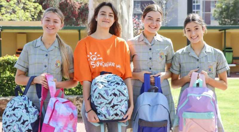 Mercedes College Students Donate Needed Items for Foster Children