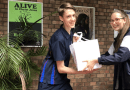 St Andrew's Cathedral School Students Pack Hampers for Those in Need