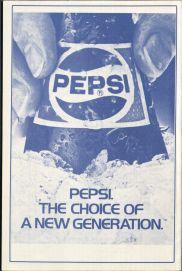 Spring Fair 85 Pepsi