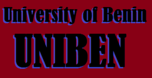University of Benin, UNIBEN Offered undergraduate Courses