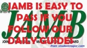 secret of passing jamb