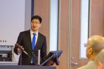Yong (Chris) Zhang, Senior Partner of Dentons Law Offices based in Shenzhen, was a featured speaker at this China Law Society lunch & learn session with presentations from three current LLM students on April 19, 2018