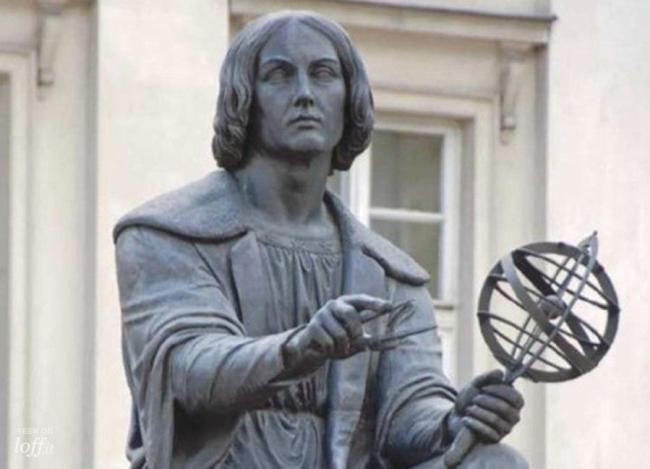 Николай Коперник статуя
