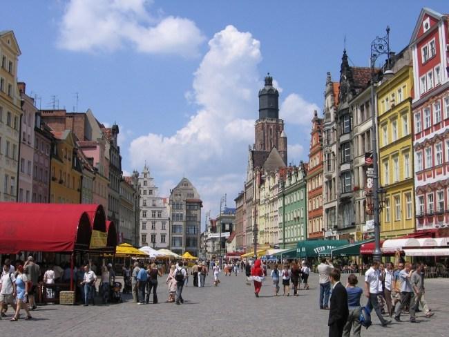 Вроцлав, столица Нижесилезского воеводства