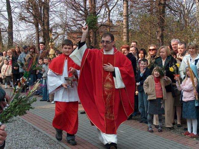 Пальмовое воскресенье и Великая неделя в Польше