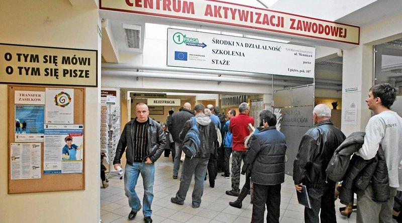 Безработные в Польше