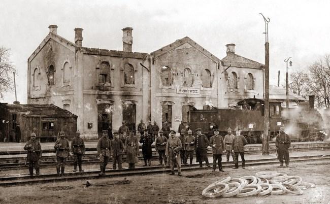 Польские железные дороги старые фотографии
