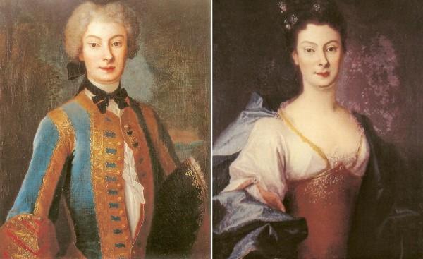 Анна Каролина Орзельская в мужском и женском платье