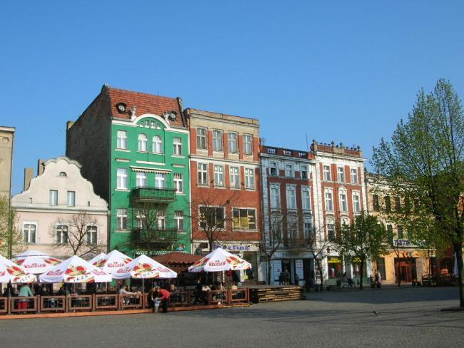 Улица в Лешно