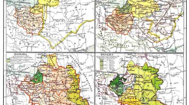 Карты Польши