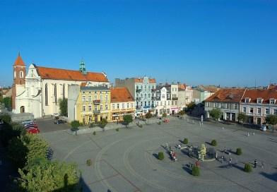 Рыночная площадь в Гнезно