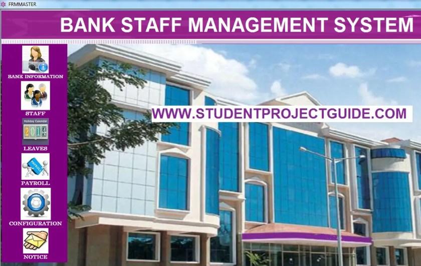 BANK Staff Management System