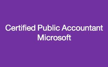 Certified Public Accountant Microsoft/students.ma