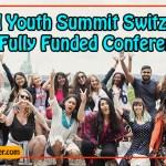 Global Youth Summit Switzerland 2019 Fully Funded