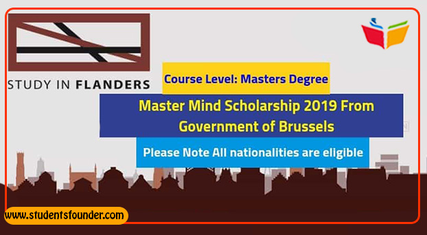 Master Mind Scholarship 2019 For Masters From Government of Brussels