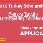 Turkey Government Scholarship 2019 For International Students