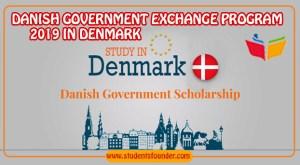 DANISH GOVERNMENT EXCHANGE PROGRAM 2019 IN DENMARK (FULLY FUNDED)